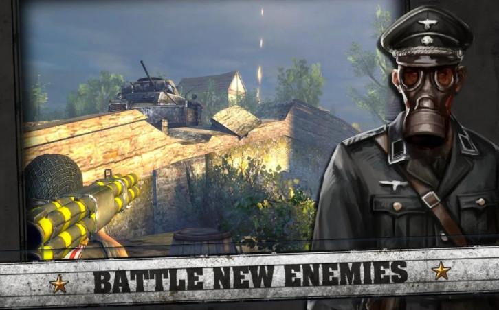 Bản mod Frontline Commando cho android
