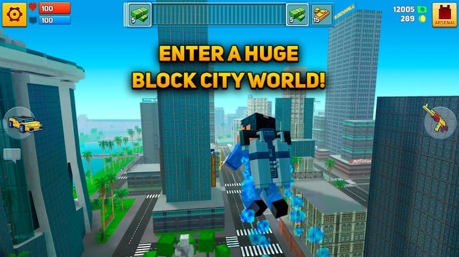Download Block City War cho android