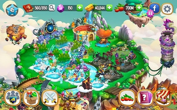 Download game Dragon City cho android