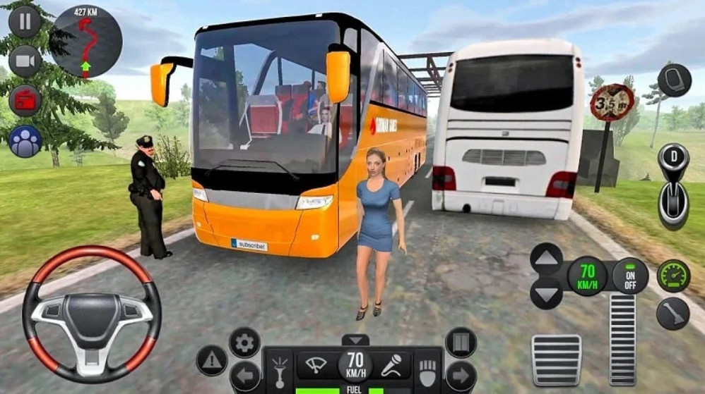 Giao diện game Bus Simulator Ultimate