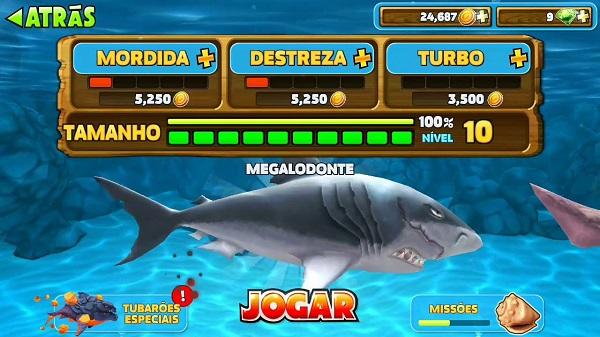 Hungry Shark Evolution apk download miễn phí
