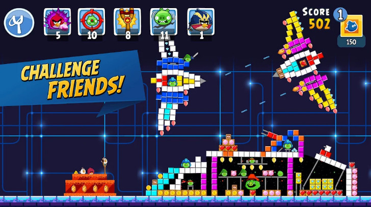 Mod Angry Birds Friends apk cho android