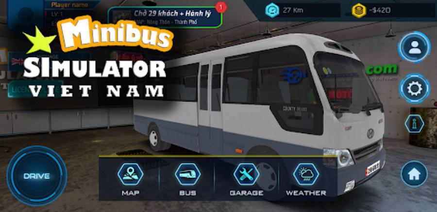 Mod game Minibus Simulator Vietnam