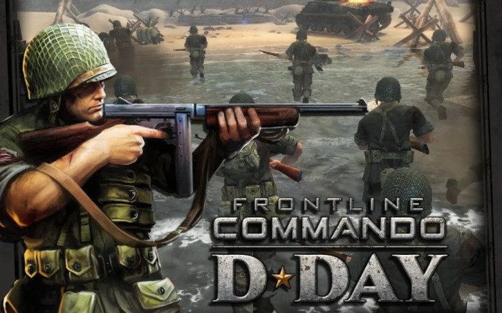 Mod game Frontline Commando