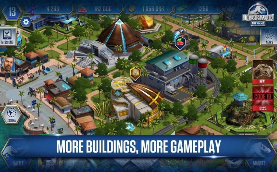 Mod game Jurassic World