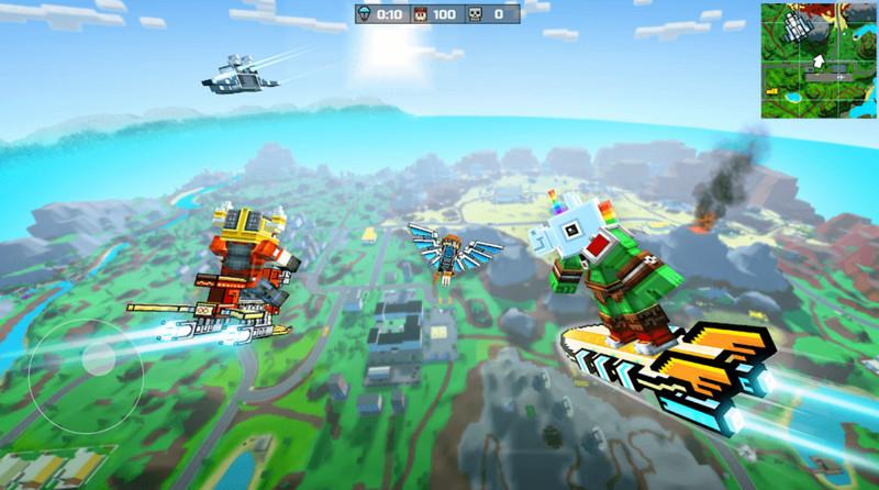 Mod game Pixel Gun 3D