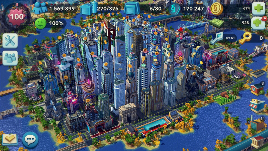 SimCity BuildIt cho android miễn phí