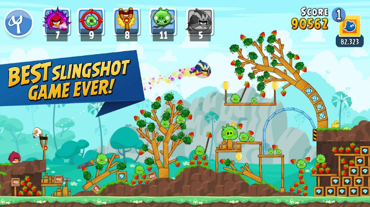 Tải game Angry Birds Friends