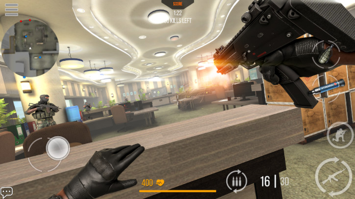 Tải mod Modern Strike cho androd