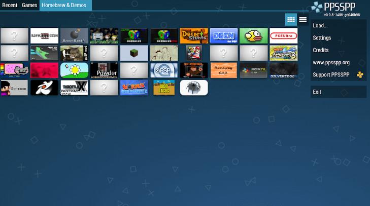 Tảo mod PPSSPP Gold - PSP Emulator