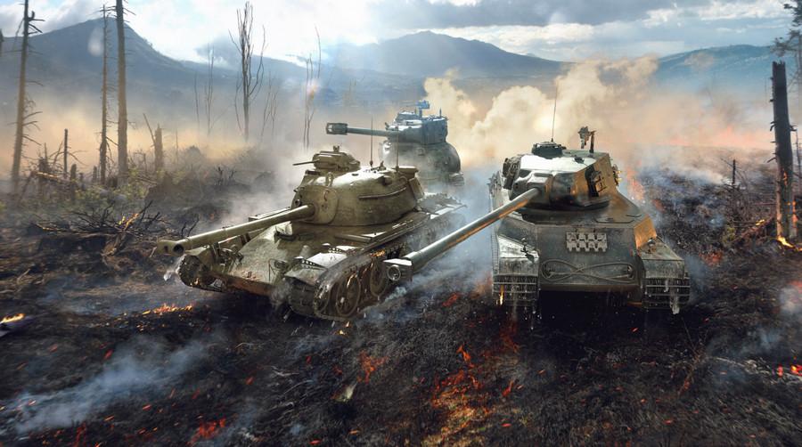 Tải World of Tanks Blitz miễn phí full tiền không giới hạn