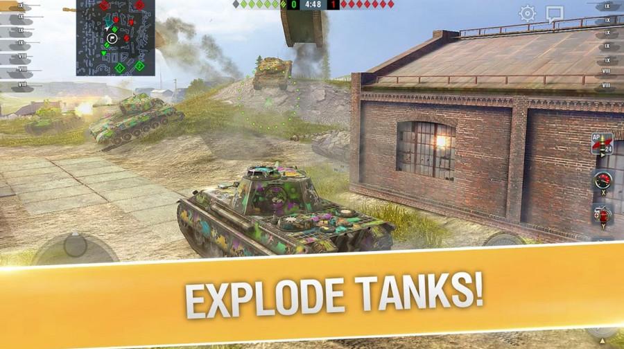 Tải game World of Tanks Blitz