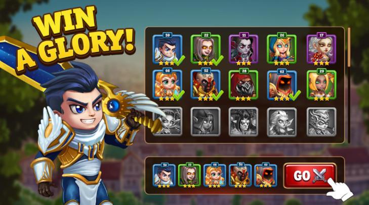Tính năng bản mod Hero Wars