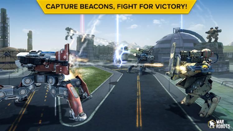 War Robots mod apk tải miễn phí