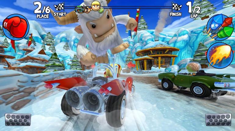 Beach Buggy Racing 2 mod vô hạn tiền