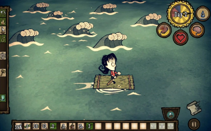 Don't Starve Shipwrecked aok cho android
