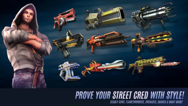 Download Gangstar Vegas mod dành cho android