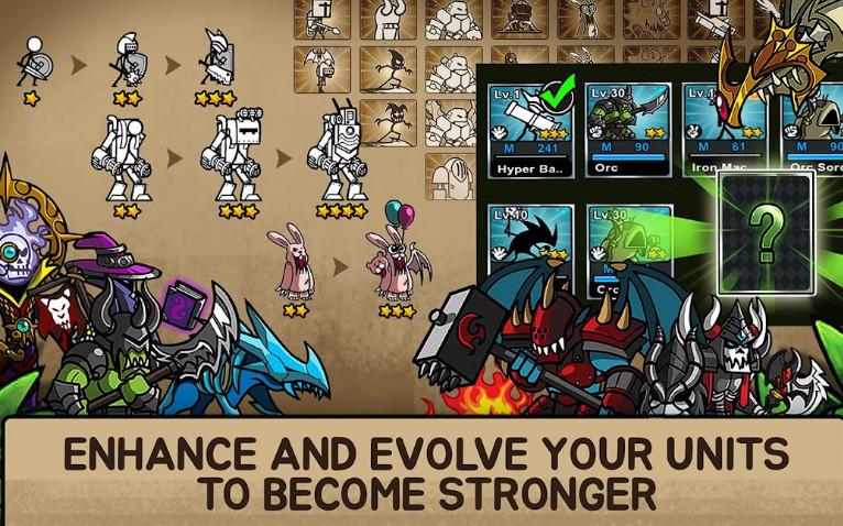 Game Cartoon Wars 3 cho android
