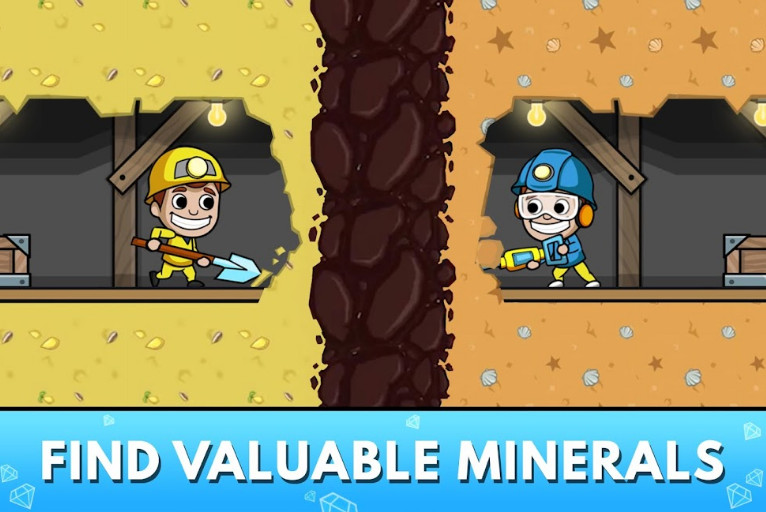 Idle Miner Tycoon mod cho android