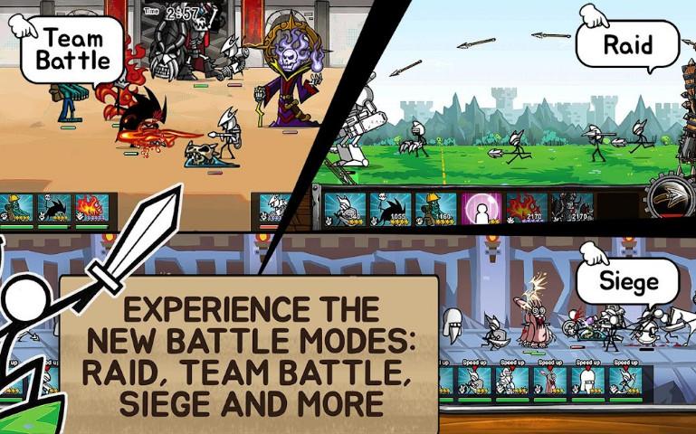 Mod Cartoon Wars 3 phiên bản mới