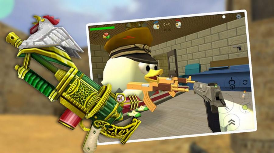 mod Chicken Gun phiên bản mới nhất