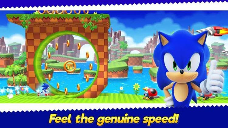 Mod Sonic Runners Adventure mới nhất