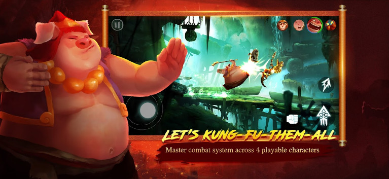 Mod Unruly Heroes cho android