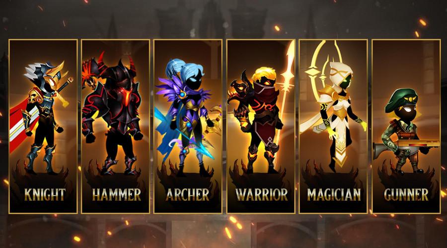 Stickman Legends mod bản mới nhất