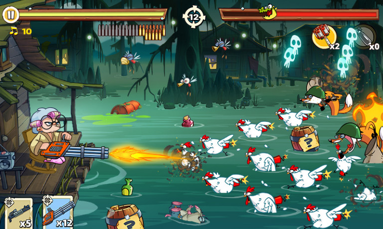 Swamp Attack 2 mod apk cho android