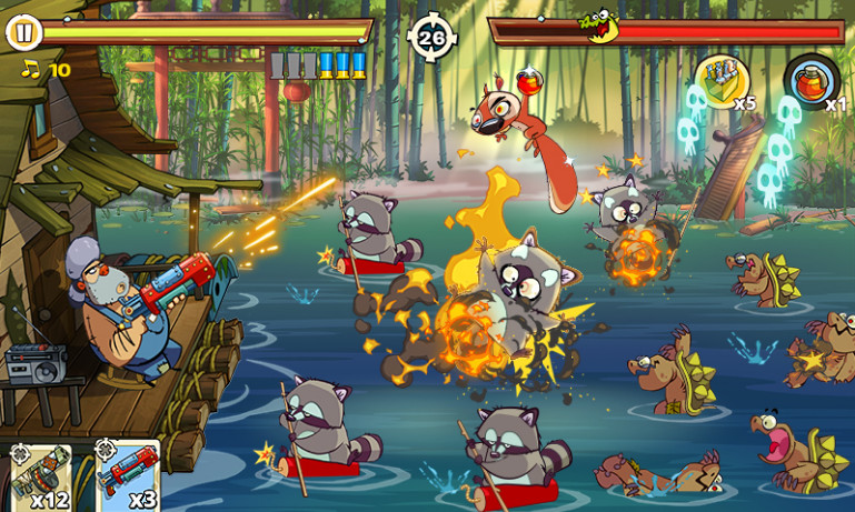 Swamp Attack 2 mod cho android