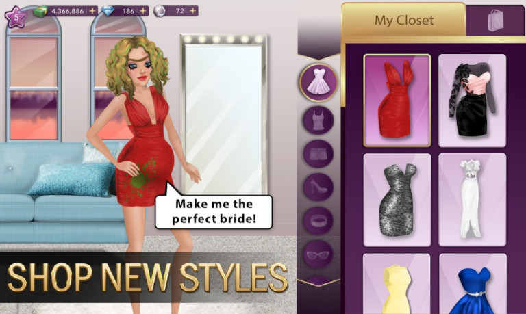 Tải game Hollywood Story Fashion Star cho android