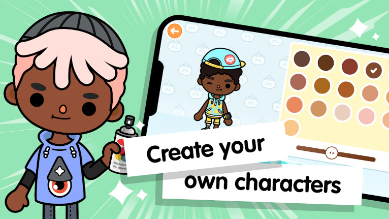 Toca Life World mod cho android