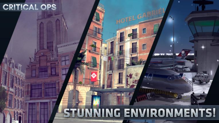 Critical Ops mod phiên bản mới