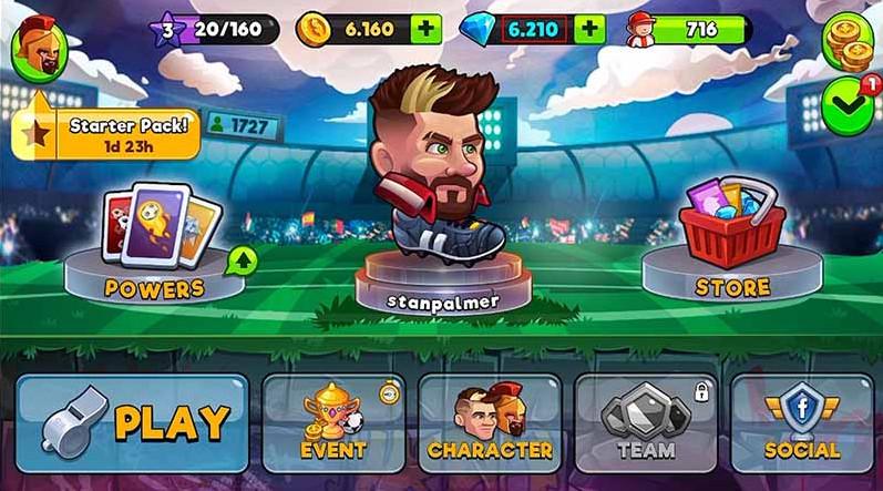Tải Head Ball 2 mod apk cho android