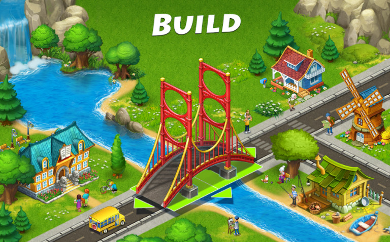Township mod apk cho android